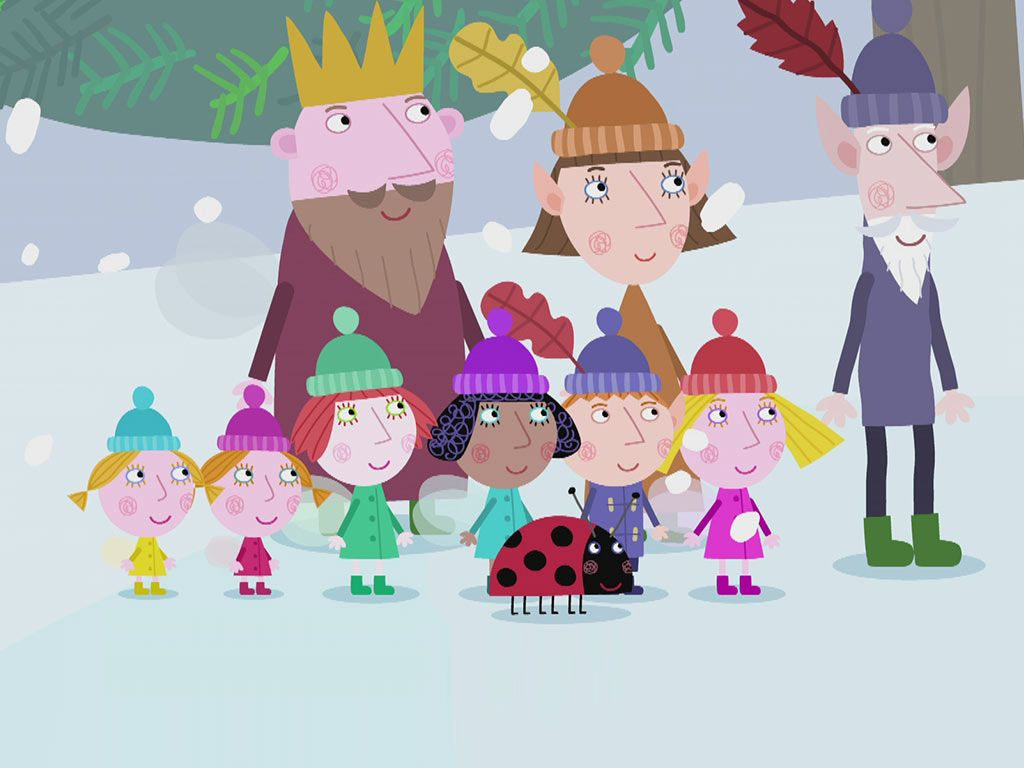 christmas trees ben hollys little kingdom video s2 ep226 - Ben And Holly Christmas