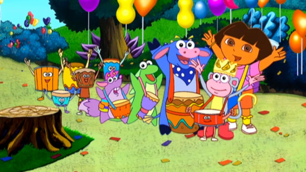 boots parade dora the explorer video clip s3 ep312