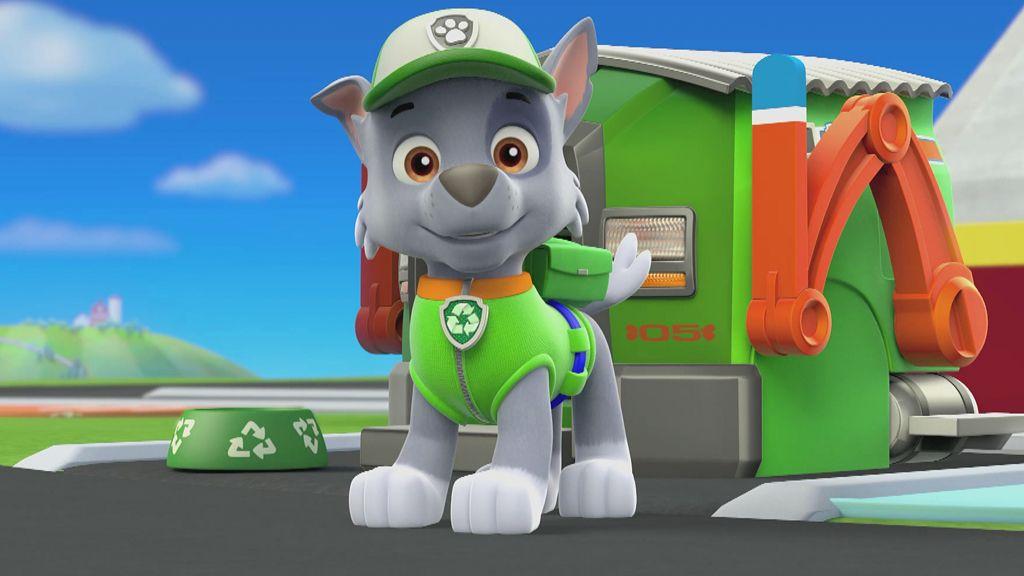 rocky paw patrol  Meet Rocky, PAW Patrol Video Clip