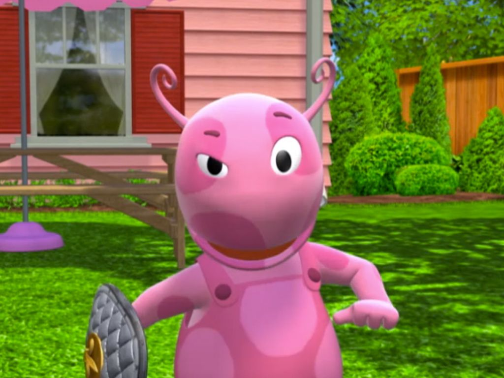 Uncategorized Pink Backyardigan were knights thats right a backyardigans music video