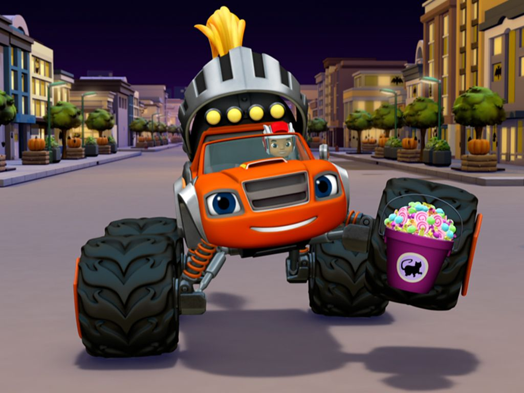Truck Or Treat First Look Blaze And The Monster Machines Video